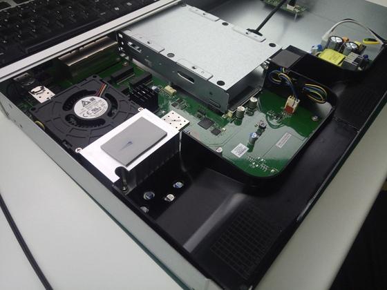 UDM-PRO, CPU Lüfter / Luftleitelemente