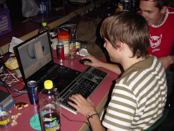 2006-08-26 - GoE LAN 2 Kaffee und Kuchen - 003
