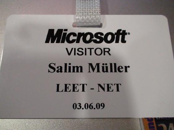 2009-06-03 - Microsoft System Center Event - 001