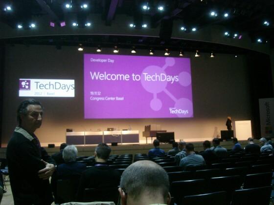 2012-11-19 - Techdays 2012 Basel - Developer Day 003