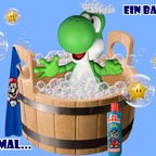 Mario & Yoshi Wallpaper August 2021 - 012