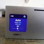 UDM-PRO, Display Leerlauf
