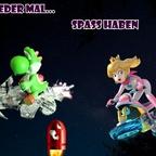 Mario & Yoshi Wallpaper August 2021 - 025