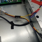 UDM-PRO, Kabel mit Y für HDD Lüfter Tachosignal (Detail)