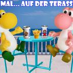 Mario & Yoshi Wallpaper April 2021 - 015