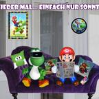 Mario & Yoshi Wallpaper April 2021 - 006