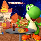 Mario & Yoshi Wallpaper März 2021 - 004