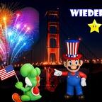 Mario & Yoshi Wallpaper Julii 2021 - 004