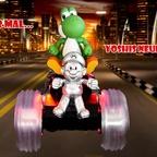 Mario & Yoshi Wallpaper August 2021 - 005