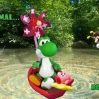 Mario & Yoshi Wallpaper August 2021 - 004